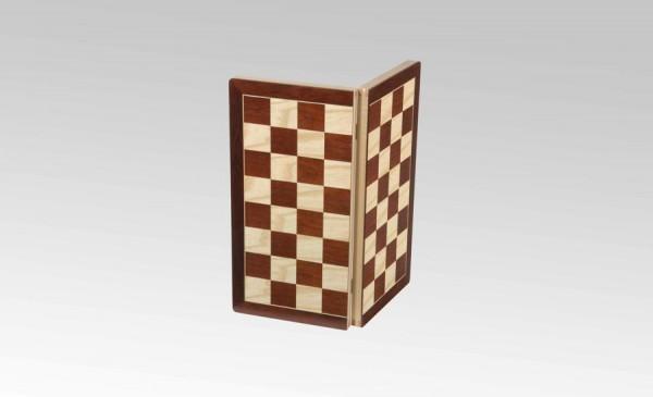 Schachkassette in Jatoba/Ahorn, Feldgröße 45mm