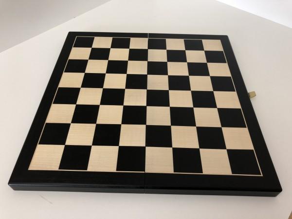 Schachkassette Schwarz 45mm