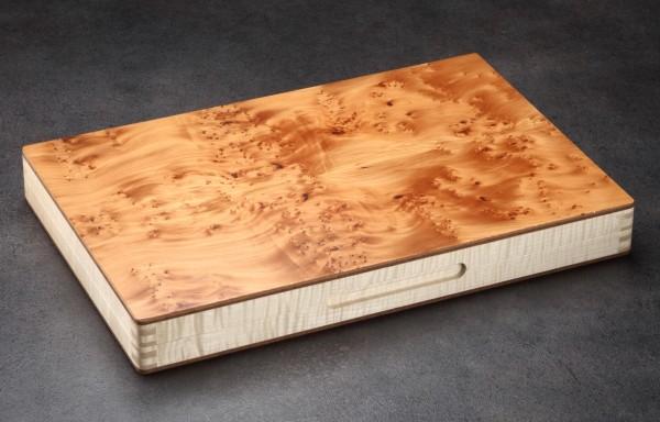 Backgammonkoffer in Pazifischer Eibe - limitiert